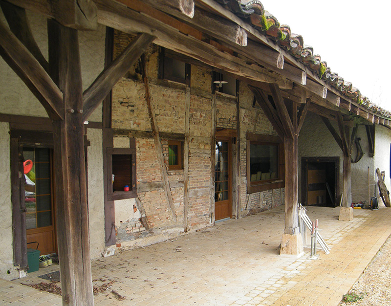 Restauration de colombages