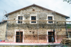 Restauration de façade anciennes - 01370 PRESSIAT VAL-REVERMONT