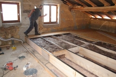 Isolation d'un plancher - Treffort- Cuisiat (01370)