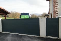 Portail aluminium - Montagnat (01250)