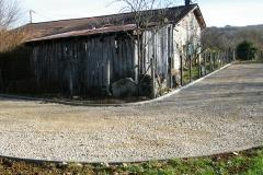 Terrassement - création d'un chemin - Montmerle (01370)